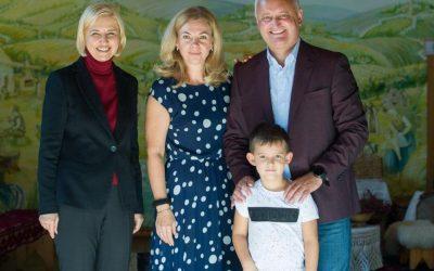 Игорь Додон: Как хорошо, когда семья понимает и поддерживает!