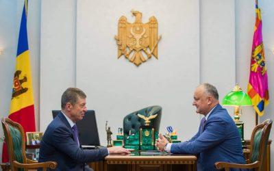 Igor Dodon va efectua o vizită de lucru în Federația Rusă
