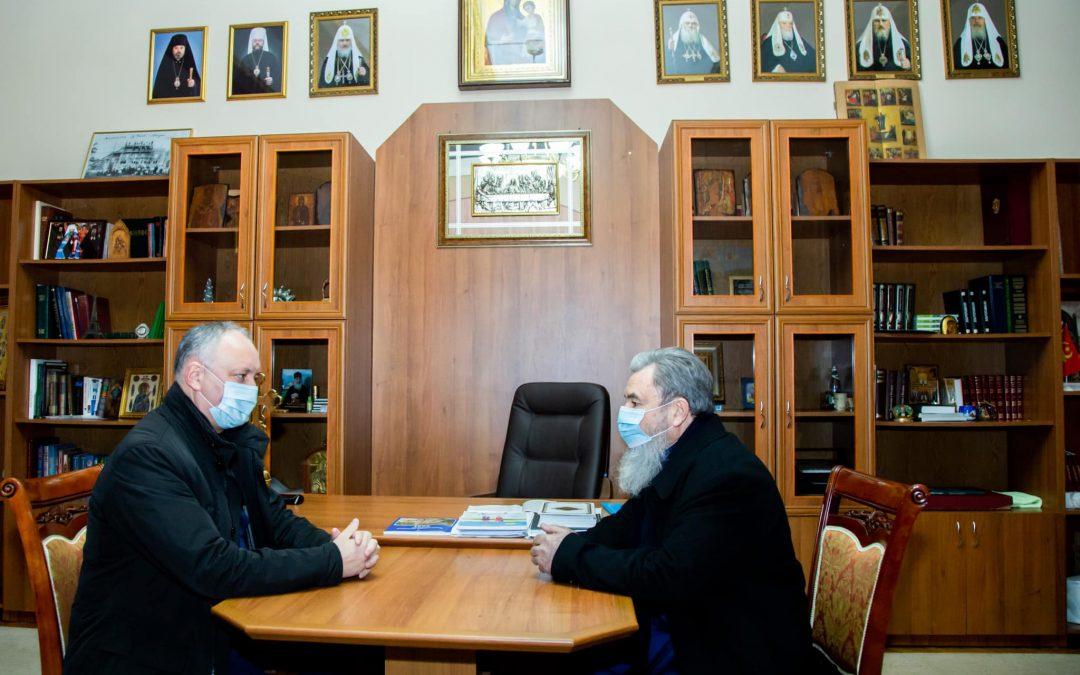 Всегда защищал и буду далее защищать Православную церковь Молдовы!