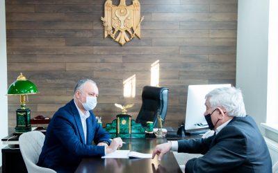 Конституционная реформа – в поле зрения лидера ПСРМ