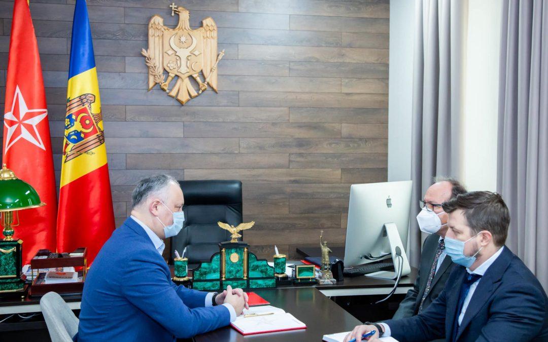 Встреча с послом Румынии