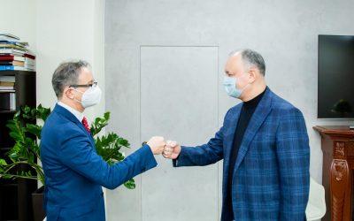 Додон: Альтернативы мирному диалогу с руководством Приднестровского региона нет