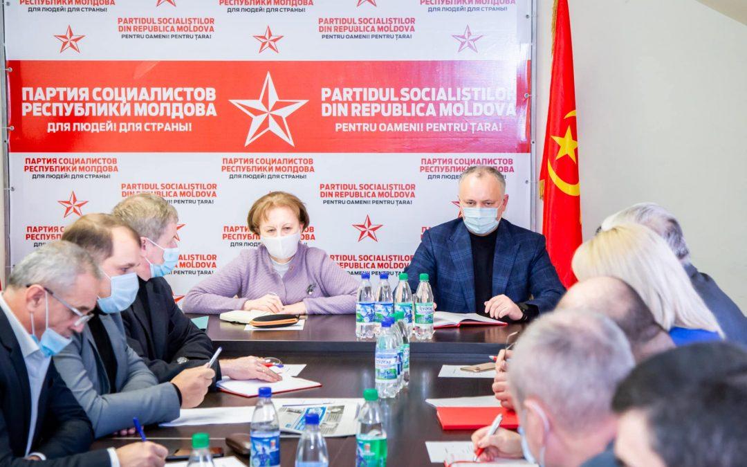 Только консолидировав усилия, мы сможем решить существующие проблемы и обеспечить достойную жизнь в Молдове