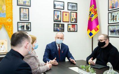 Igor Dodon a prezidat ședința grupului de lucru în chestiunea legată de adoptarea Legii cu privire la funcționarea limbilor pe teritoriul Republicii Moldova