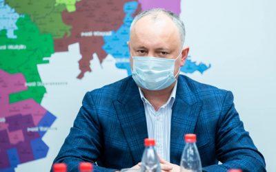 Додон предлагает перенести выборы в Народное собрание Гагаузии на более поздний срок