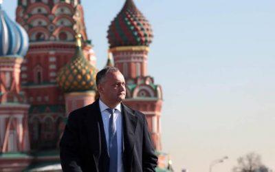 Игорь Додон отправился с визитом в Москву