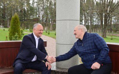 Am discutat cu plăcere cu Aleksandr Lukașenko, într-un cadru informal, la reședința prezidențială din Ostroshitsky Gorodok, regiunea Minsk