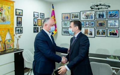 Рабочая встреча с послом Азербайджана
