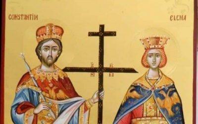 Creștinii ortodocși sărbătoresc astăzi Ziua Sfinților Împărați Constantin și Elena