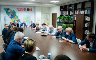 Am prezidat ședința staffului zonal Centru al Blocului Electoral al Comuniștilor și Socialiștilor