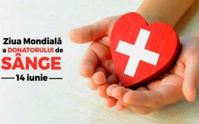 Prin donarea de sânge putem salva mai multe vieți
