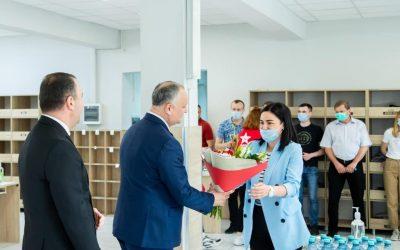 Провел искреннюю беседу с сотрудниками государственного предприятия «Почта Молдовы»