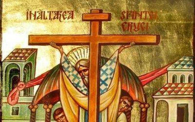 Transmit sincere felicitări creștinilor ortodocși cu prilejul sărbătorii de astăzi, Înălţarea Sfintei Cruci