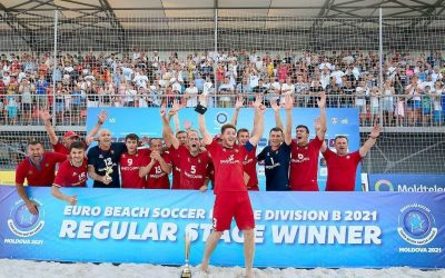 Искренне поздравляю национальную сборную Молдовы по пляжному футболу с успешным выходом из отборочного турнира Чемпионата Европы – Euro Beach Soccer League – и переходом из Дивизиона А в Дивизион А
