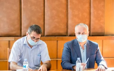 В качестве президента Шахматной федерации Молдовы созвал очередное заседание президиума Федерации