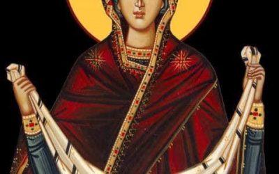 Creștinii ortodocși prăznuiesc astăzi Acoperământul Maicii Domnului